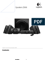 Logitech z906 Service Manual English