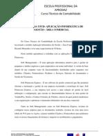 REFLEXÃO DA UFCD –APLICAÇÃO INFORMÁTICA DE GESTÃO - ÁREA COMERCIAL