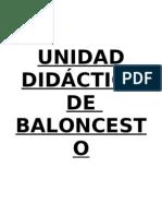 Unidad Didactica Basket