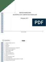 STATISTICHE SERVIZIO FERROVIARIO 2010-2011