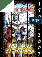 Revista Munipicipal da RGR comemoração 500 Anos