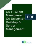 CA Unicenter Desktop Server Management Green Book 032708