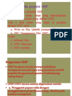 powerpoint Media Proyeksi OHP
