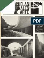 La Escuelas Nacionales de Arte en 1965