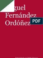 Testigos - Entrevista a Miguel Fernández Ordóñez