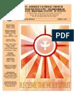 June 12, 2011 Bulletin