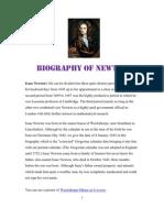 Biography of Newton