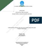 Analisis Kualitas Pelayanan PDAM
