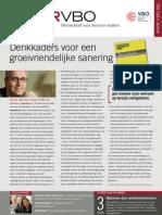 Denkkaders voor een groeivriendelijke sanering, VBO Infor nr 20, 9 juni 2011
