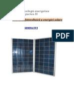 Tehnologii energetice II