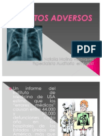 Diapositivas EVENTOS ADVERSOS