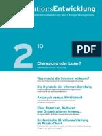 Pragmatisches Change Management - OrganisationsEntwicklung 2/2010