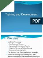 HRM-Training and Development