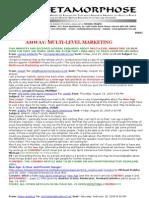 Amway Multi-level Marketing