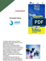 Antonella Celano, ANMAR, L'assistenza farmaceutica e i pazienti cronici e rari