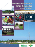 PAE Ilhas Reunidas - Plano de Utilização
