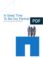 A Great Time to Partner With Netapp