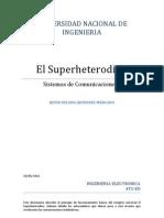 Trabajo de Superheterodino
