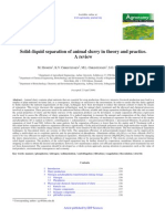Hjorth et al. - 2009 - Solid–liquid separation of animal slurry in theory and practice. A review