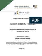 Plan de Estudios de Ingenieria en Sistemas Forest Ales 2010