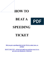 Beat Speeding