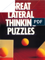 Great Lateral Thinking Puzzles by Paul Sloane and Des MacHale