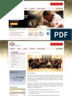 YCAB Foundation International website