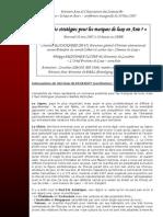Quell Strategie Pour Les Marques de Luxe en Asie. PDF