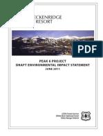 Breckenridge Peak 6 draft EIS