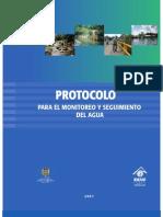Protocolo monitoreo agua