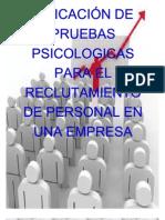 PRUEBAS PSICOMETRICAS
