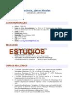 Curriculum Vitae de Pucheta Victor Nicolas1