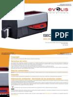Manual Tutorial Impresora de gafetes de plastico Evolis Securion