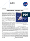 NASA Facts Beamed Laser Power for UAVs
