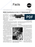 NASA Facts Contributions to the C-17 Globe Master II