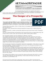 Prosperity Gospel and the Catholic Errol Fernandes