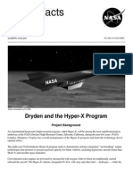 NASA Facts Dryden and the Hyper-X Program