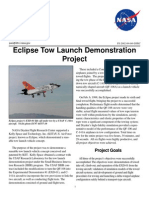 NASA Facts Eclipse Tow Launch Demonstration Project 2002