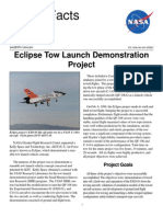 NASA Facts Eclipse Tow Launch Demonstration Project 1998