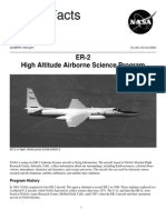 NASA Facts ER-2 High Altitude Airborne Science Program