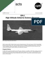 NASA Facts ER-2 High Altitude Airborne Science Program