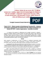 Press Vers. Ritiro Bilancio Prv. 9 Giugno 2011