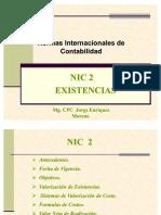 Nic 02 Existencias 2008