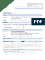 Resume Five