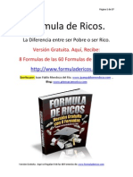 Formula de Ricos. Edicion Gratuita
