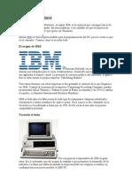 La Historia de IBM