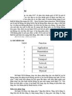 Mô hình OSI - Môn Truyền số liệu
