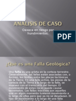 Analisis de Caso Fallas Geologic As