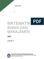 Matematika SMK Bisnis Manajemen Jilid 1