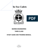 Marine Engineering Third Class Study Guide and Training Manual